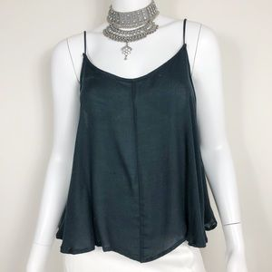 I1-12: Intimately by Free People Black Tank Sz Med